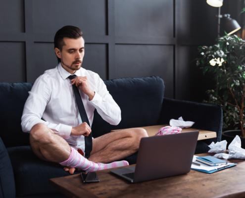 Online Meeting faux-pas vermeiden