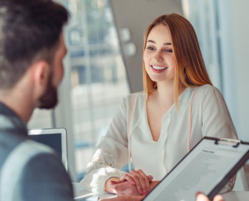 Bewerbungsgespräch erfolgreich führen